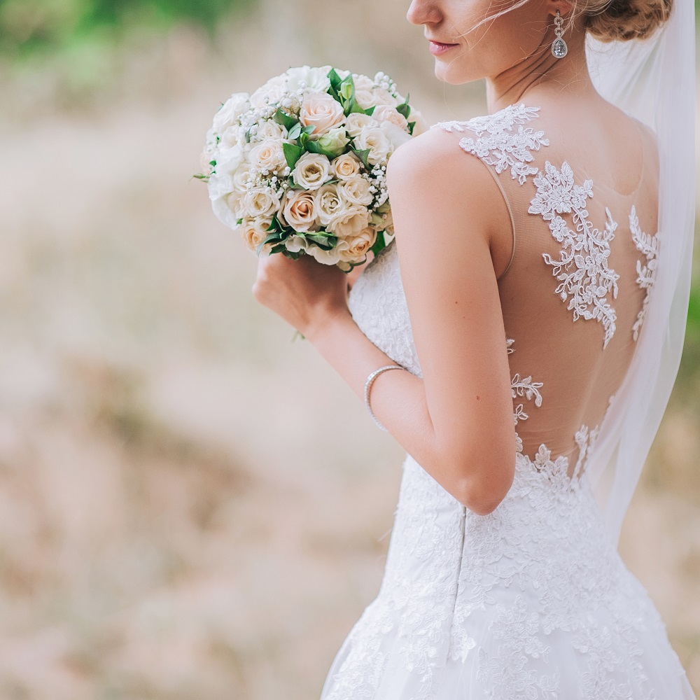 Wedding gown drycleaning Sunbury